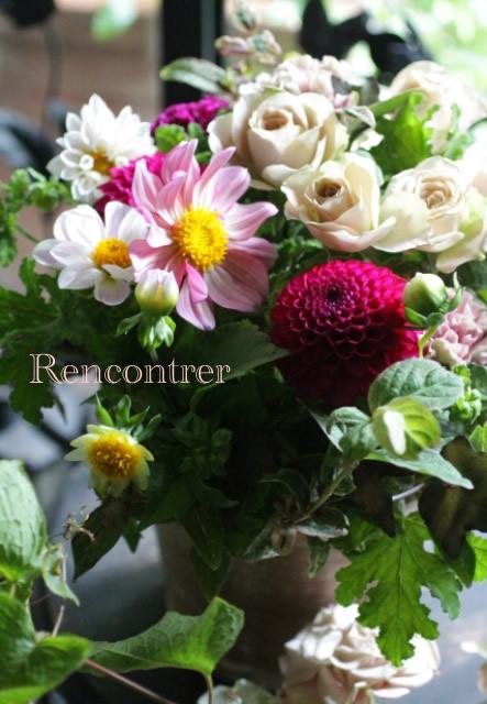 10月の花贈り_d0203649_157541.jpg