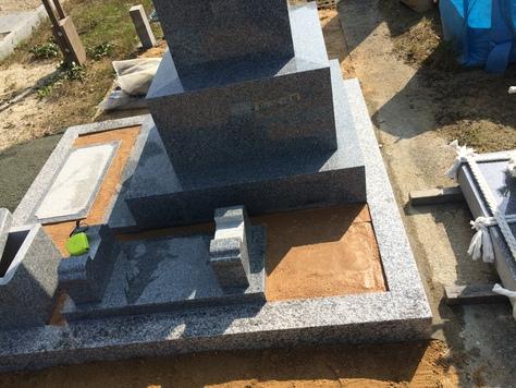 お墓 施工例_c0160758_17284577.jpg