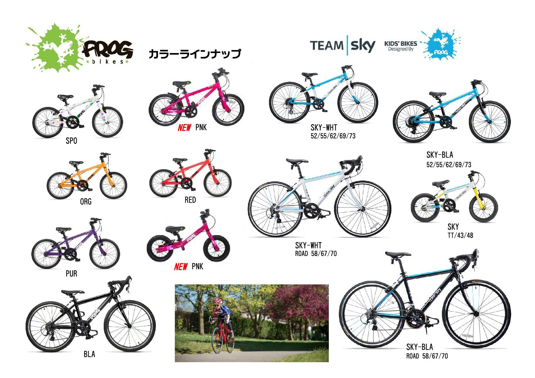 FROG bikesのNEWカラー&限定モデルです_b0189682_15195376.jpg
