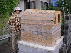 ピザ石窯完成_e0064783_19525838.jpg