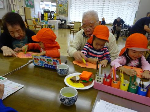 【南品川園】 高齢者交流会_a0267292_1525416.jpg
