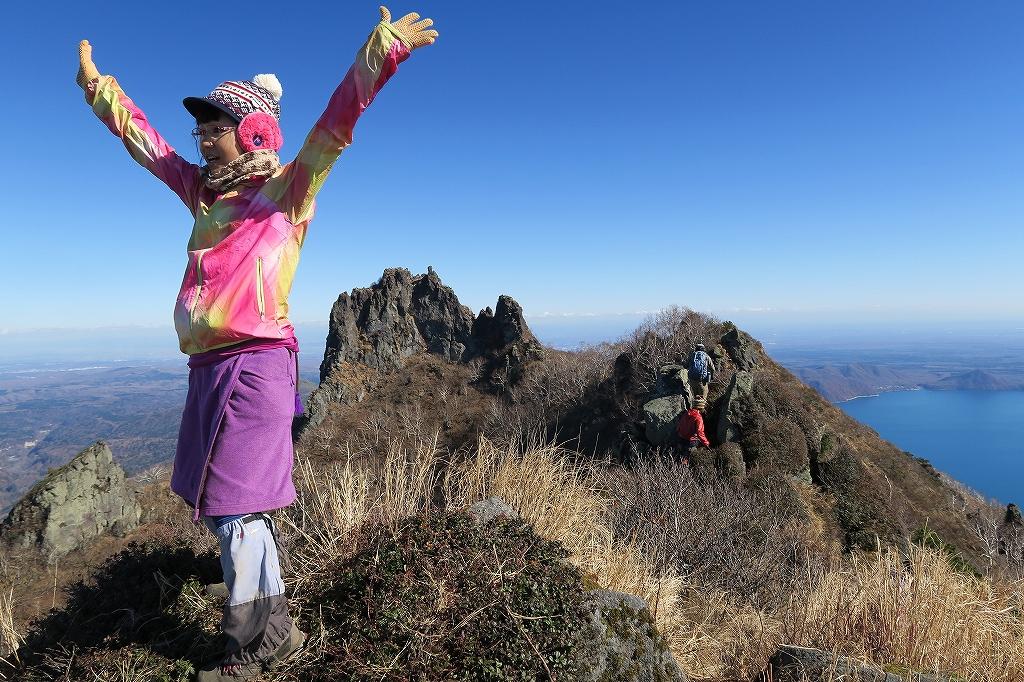 恵庭岳西峰と本峰、10月22日-下山編-_f0138096_14141632.jpg