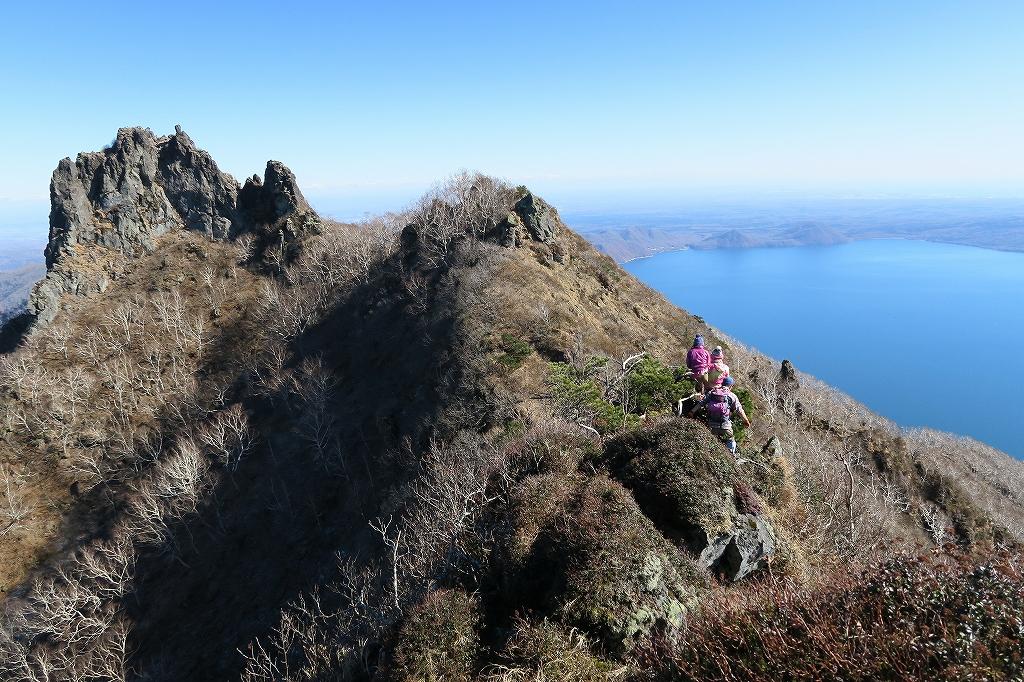 恵庭岳西峰と本峰、10月22日-下山編-_f0138096_14142669.jpg