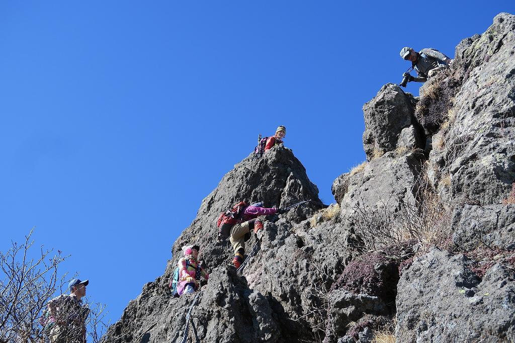 恵庭岳西峰と本峰、10月22日-下山編-_f0138096_14144315.jpg