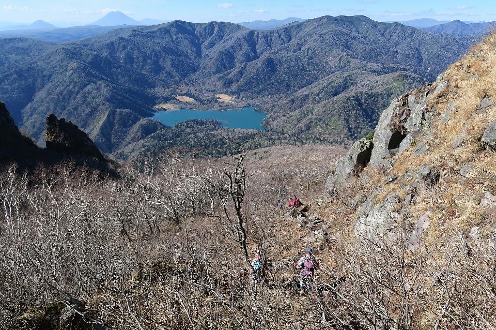 恵庭岳西峰と本峰、10月22日-下山編-_f0138096_14154738.jpg