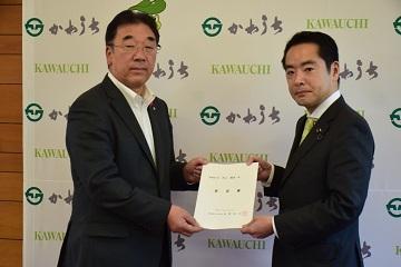 若松復興副大臣、井上環境副大臣に要望_d0003224_14134174.jpg