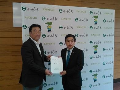 若松復興副大臣、井上環境副大臣に要望_d0003224_14135683.jpg