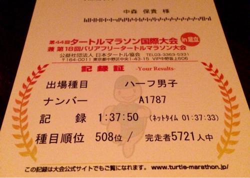 第44回タートルマラソン国際大会公式結果とこれから_d0011635_14163385.jpg
