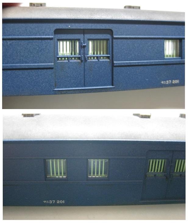 14系座席車 『雲仙・西海』 の整備⑥ (マニ37)_b0128336_065425.jpg