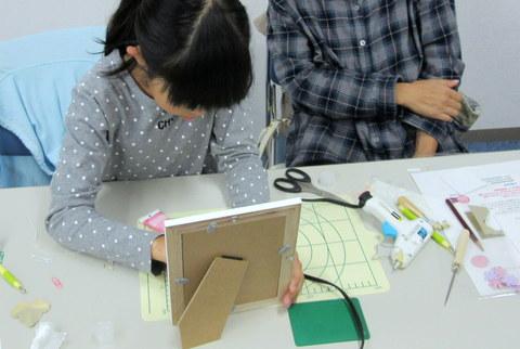 KCC10月開講 『額入りフラワー&ぶどう』_b0301949_15202884.jpg