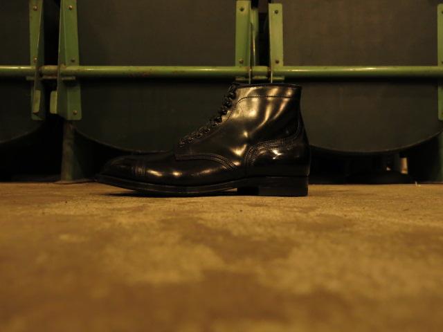 "\""ANATOMICA BY ALDEN CAP TOE BOOTS BLACK CORDOVAN\""ってこんなこと。_c0140560_11424545.jpg"