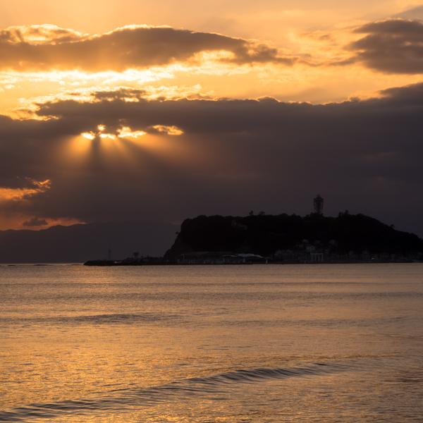 江の島の夕景・10月25日篇。_b0022268_18575130.jpg