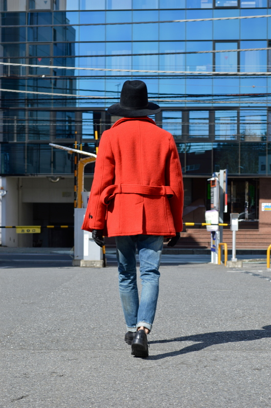 NAISSANCE - Red P-COAT!!_f0020773_19153451.jpg
