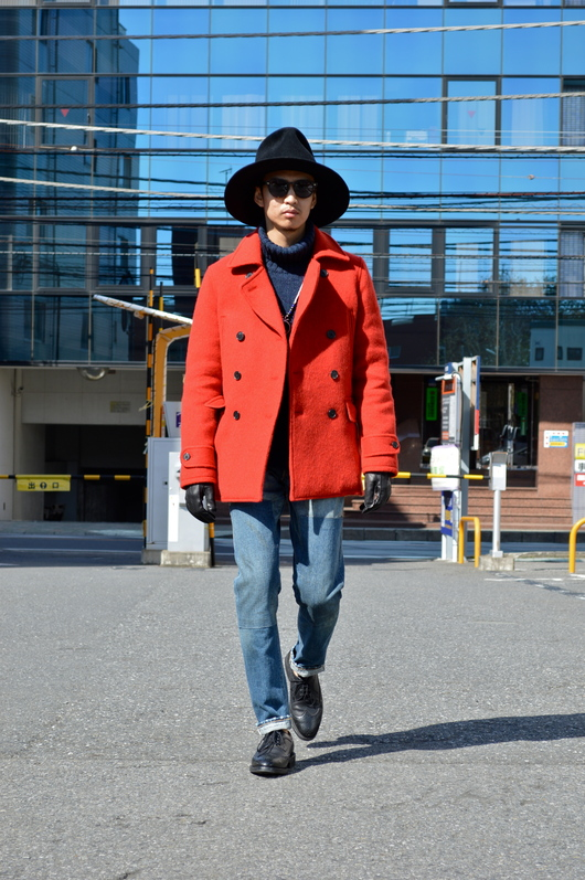 NAISSANCE - Red P-COAT!!_f0020773_191625.jpg