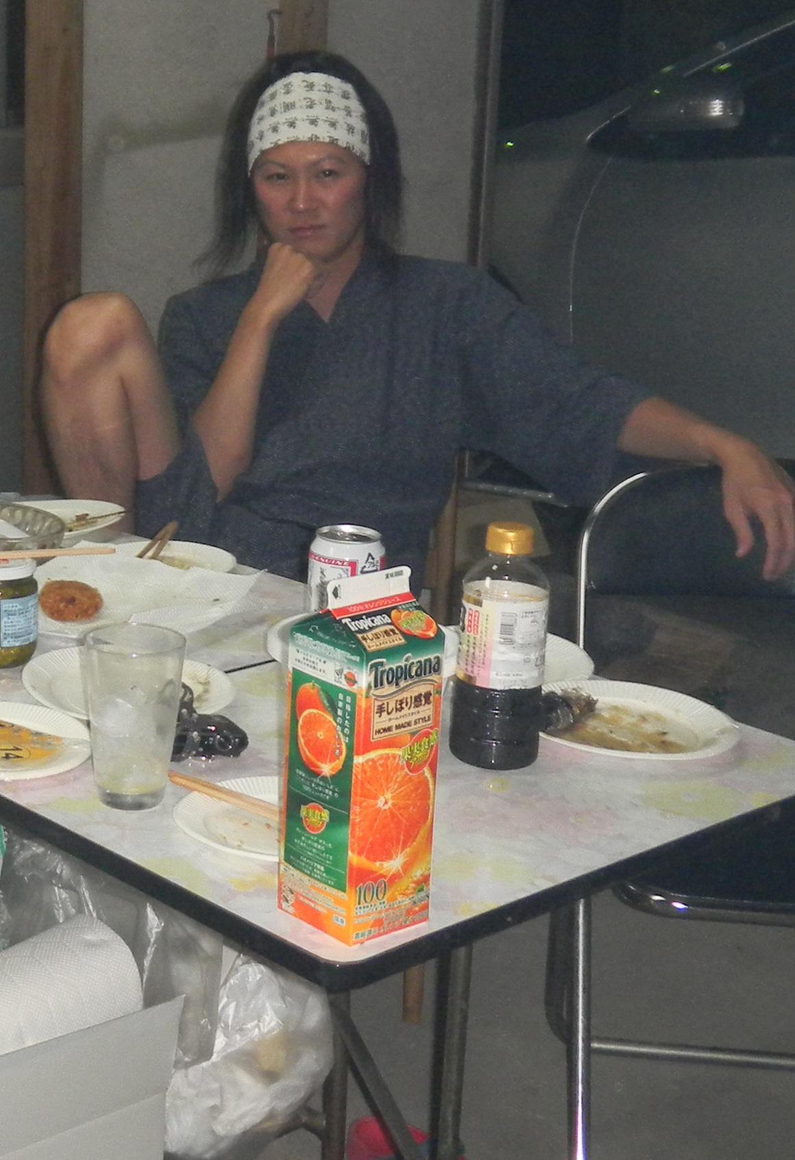 秋刀魚パーティ、念願の朝霞BBQ_d0061678_1436892.jpg