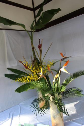 洗心流献花展、水無瀬神宮秋祭りにて_a0125981_19490792.jpg