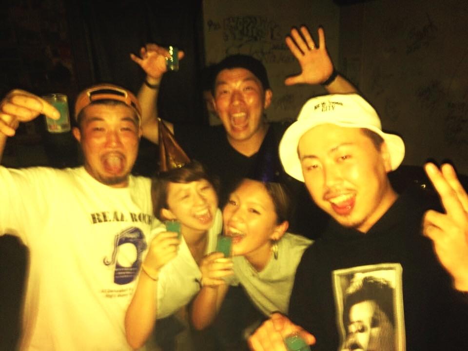 STAMINA24/7  バイブスおっさんMORISHI 祝 32歳 !! (2k15.9.26 @LUZ69)_e0115904_22500583.jpg