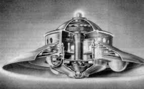 日本初公開「さあ、これが空飛ぶ円盤の作り方だ!」:フラックスライナーエンジン_e0171614_15195434.jpg