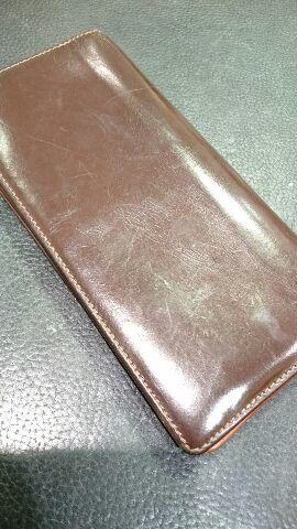 「革小物の汚れに汚れ落としは使っていいの?」_b0226322_16331842.jpg
