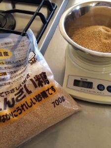 小豆を炊く_a0059035_14222822.jpg
