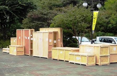 美術品海外発送用箱作製_c0251346_1922017.jpg