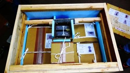 美術品海外発送用箱作製_c0251346_1923276.jpg