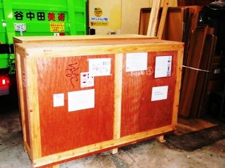 美術品海外発送用箱作製_c0251346_1925974.jpg