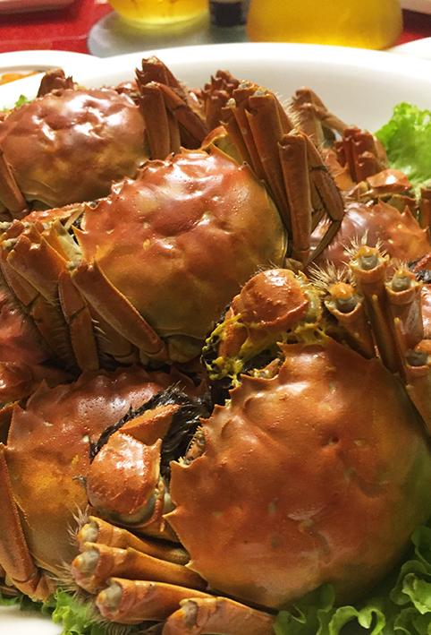 上海蟹はやっぱりおいしい。_a0031153_17294413.jpg