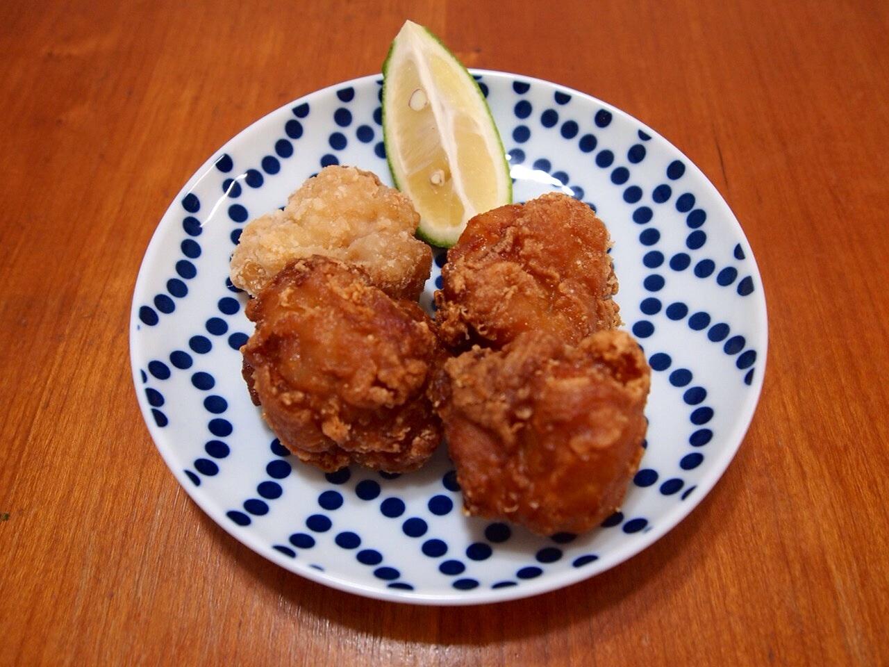 肉だんごと椎茸のウマ煮_a0258686_7493488.jpg