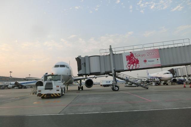 ANAポケモンラッピング飛行機羽田空港にて・・・可愛い飛行機_d0181492_17272582.jpg