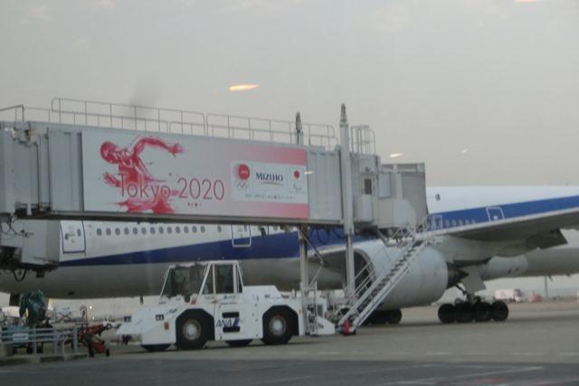 ANAポケモンラッピング飛行機羽田空港にて・・・可愛い飛行機_d0181492_17280092.jpg