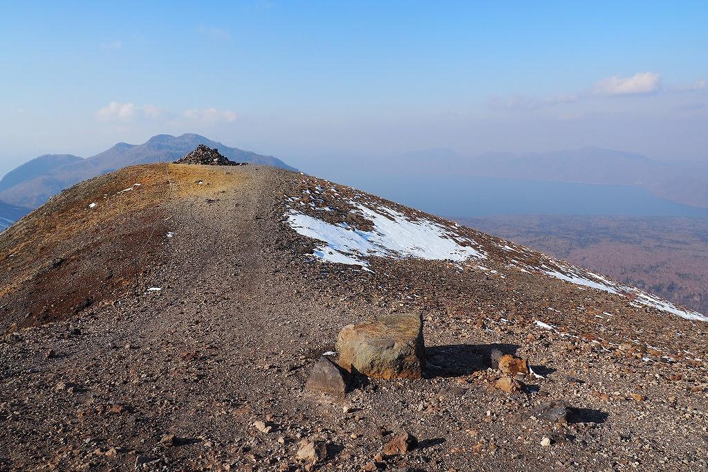樽前山で今年100座目達成、10月26日_f0138096_2119453.jpg