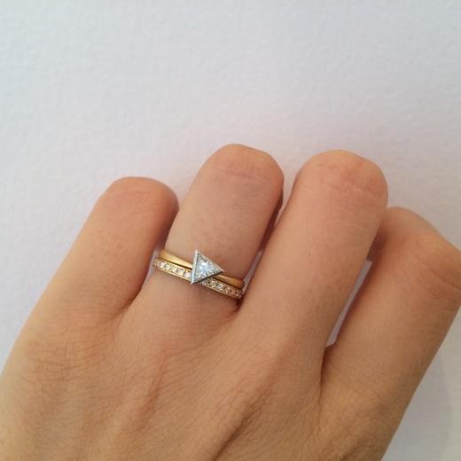 【MARULAB】 新作 ダイヤモンドリング、遂に登場!_c0221922_14241516.jpg