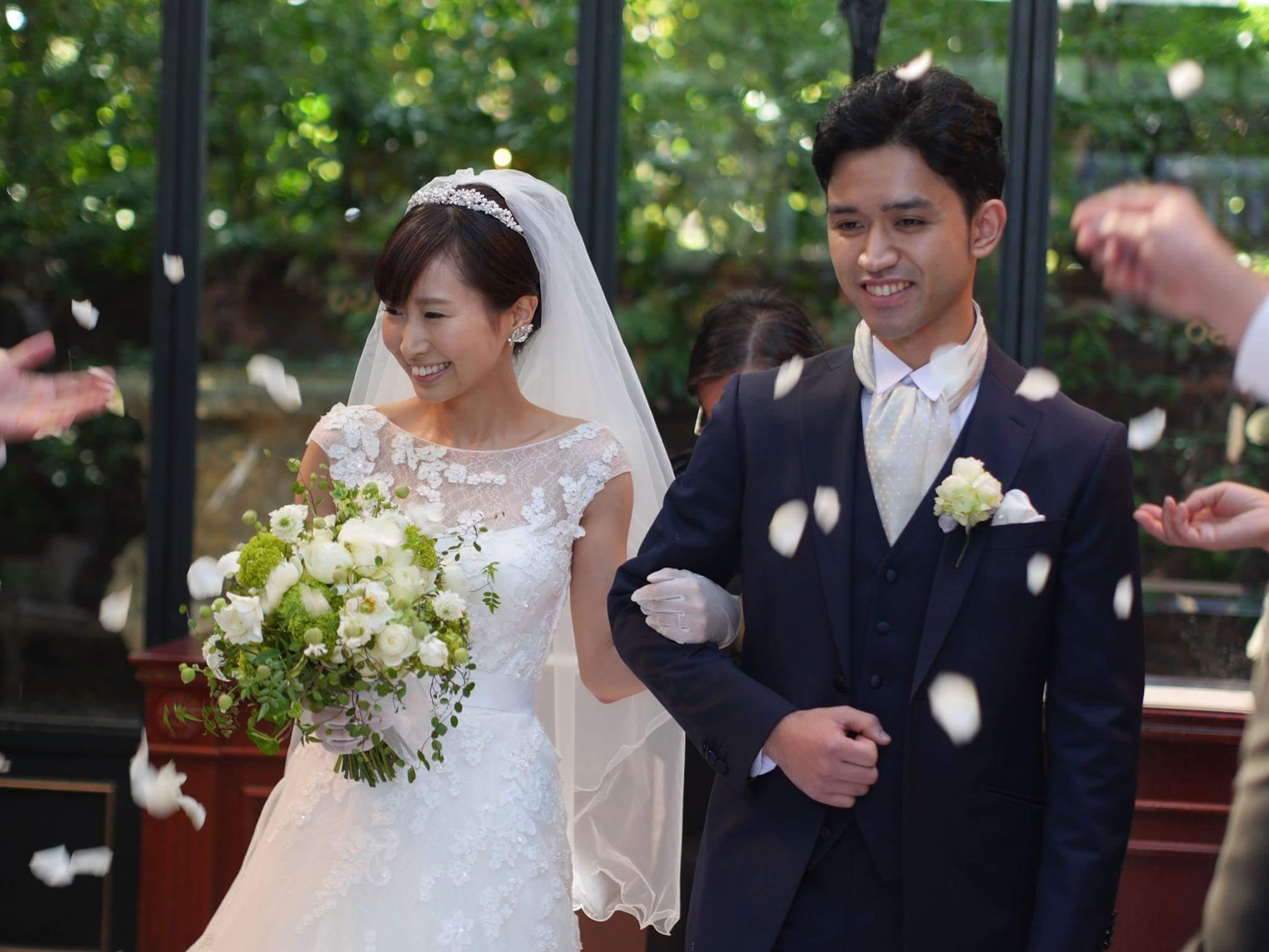新郎新婦様からのメール リストランテASOの花嫁様より バラと実り_a0042928_16534466.jpg