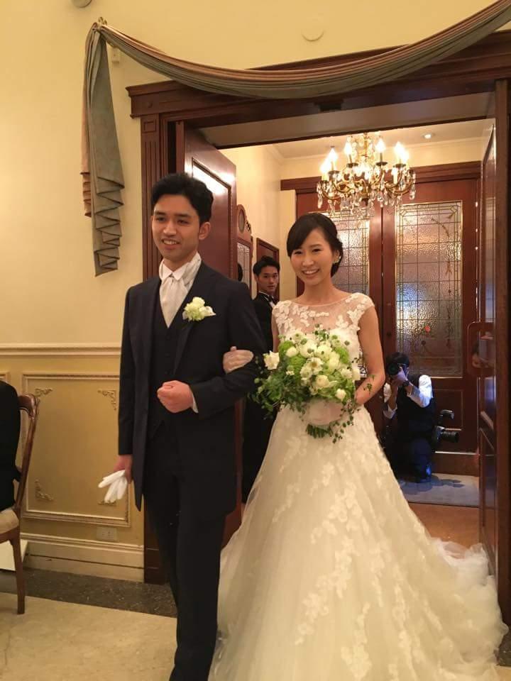新郎新婦様からのメール リストランテASOの花嫁様より バラと実り_a0042928_1654974.jpg