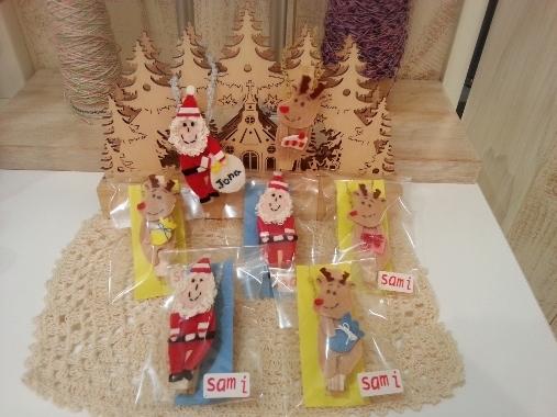 新作クリスマス限定ドールクリップ by sami_e0211448_19404977.jpg