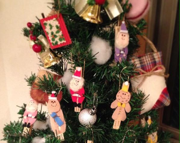 新作クリスマス限定ドールクリップ by sami_e0211448_19412450.jpg