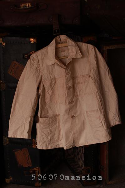 ●昭和初期・日本製ワークシャツ/ワークジャケット●_e0243096_17185641.jpg