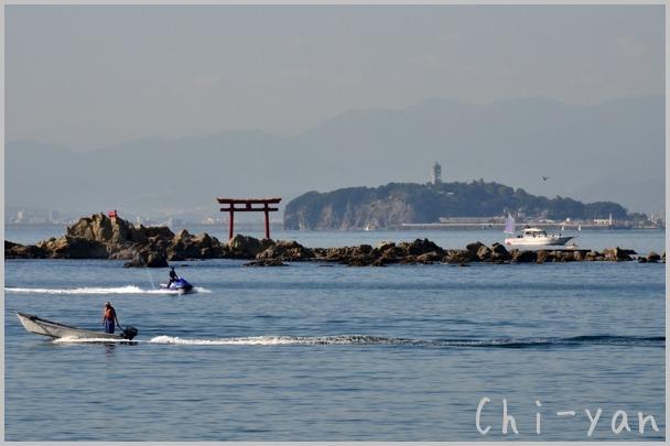 海風が少し冷たい 「湘南海岸」_e0219011_15513377.jpg