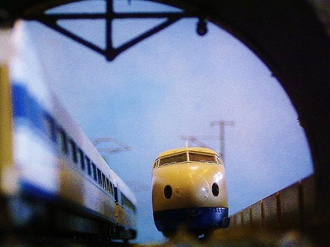 過去の作品「新幹線」_f0227828_20275744.jpg