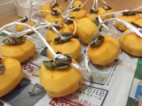 今年も干し柿作り始めました!_b0199244_00394319.jpg