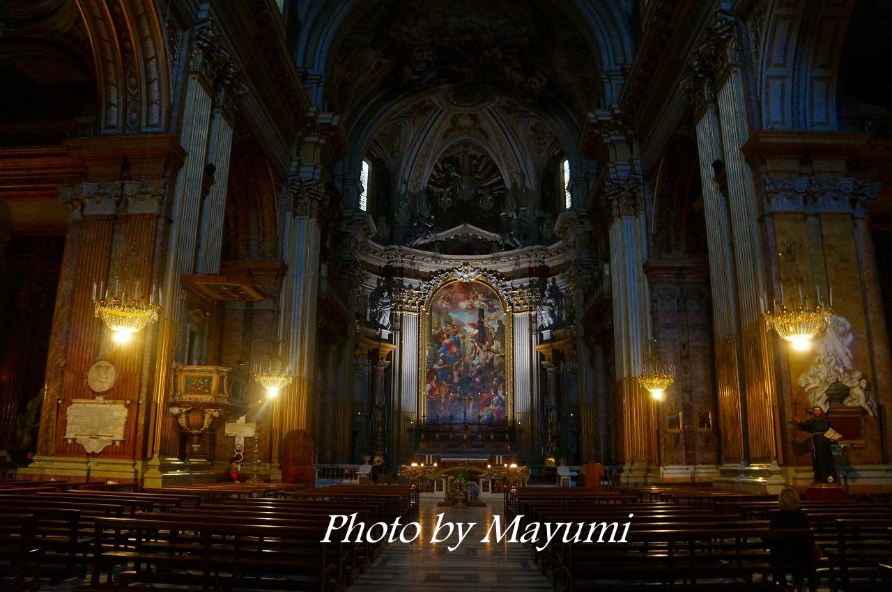 12人の使徒教会の続き♪ : ローマより愛をこめて