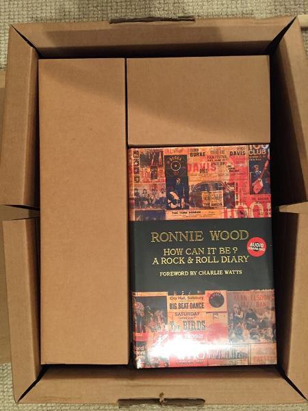 2015-10-28『Ronnie Wood/How Can It Be?』(英国版)_e0021965_16463310.jpg