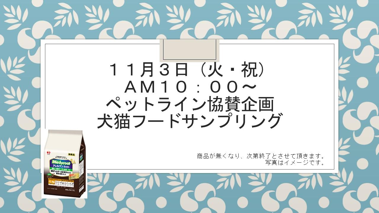 151028 ハロウィン企画&11月1日、3日イベント告知_e0181866_1012629.jpg