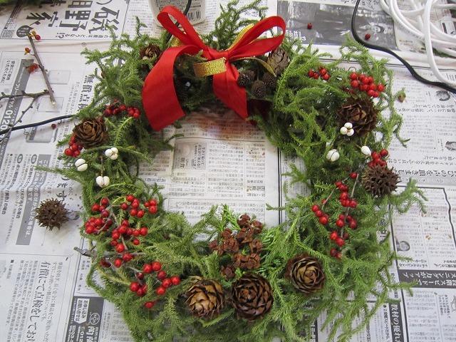 森のワークショップ ~クリスマスリース~_f0212679_10412263.jpg