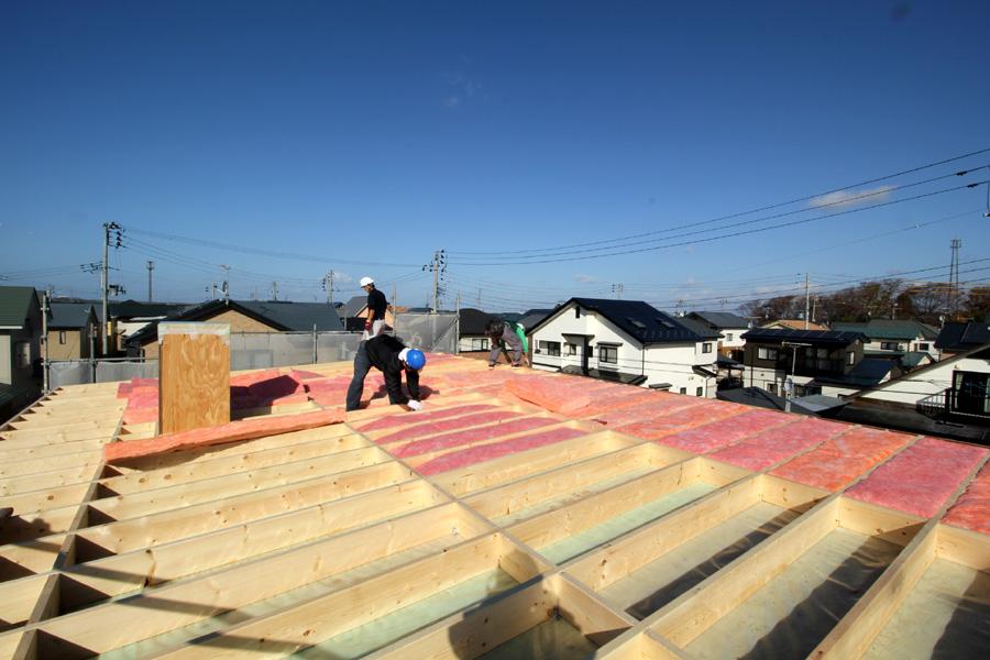 A様邸「新山前の家」工事中です。_f0150893_16391880.jpg