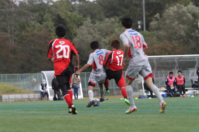 【TOP Team】東北社会人2部南リーグ 最終節: vs 松島マリソル 〜その1〜 October 25, 2015_c0365198_01362565.jpg