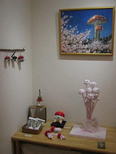 たまごの工房企画 「森と茸とコビトたち」 展  その2_e0134502_13385376.jpg