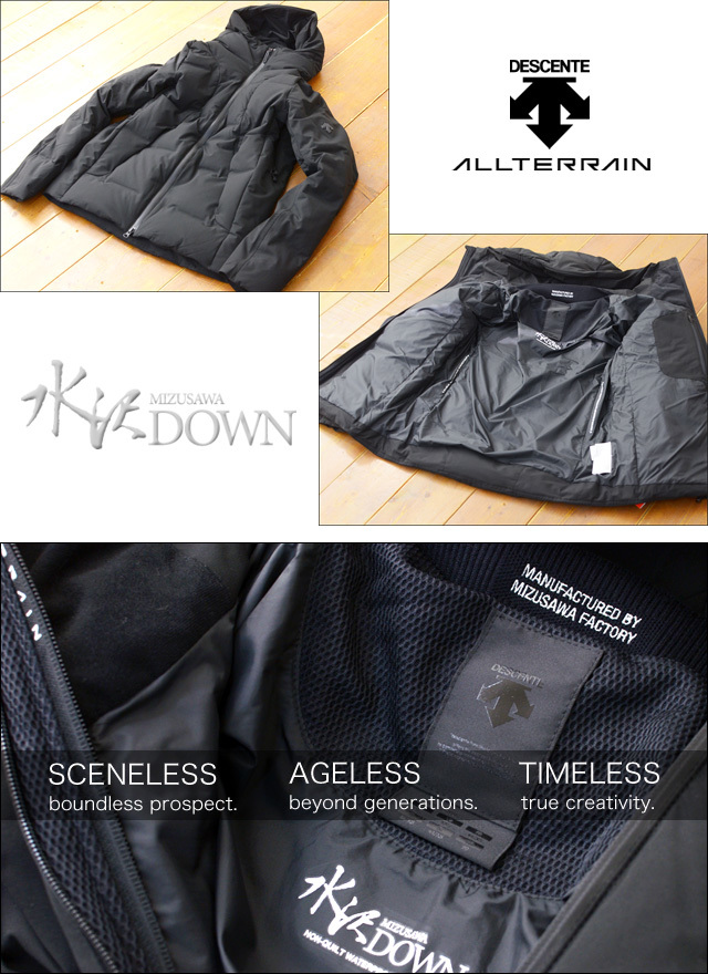 DESCENTE [デサント] MIZUSAWA DOWN JACKET 「SHUTTLE」 [DIA3571U] MEN\'S_f0051306_13204479.jpg