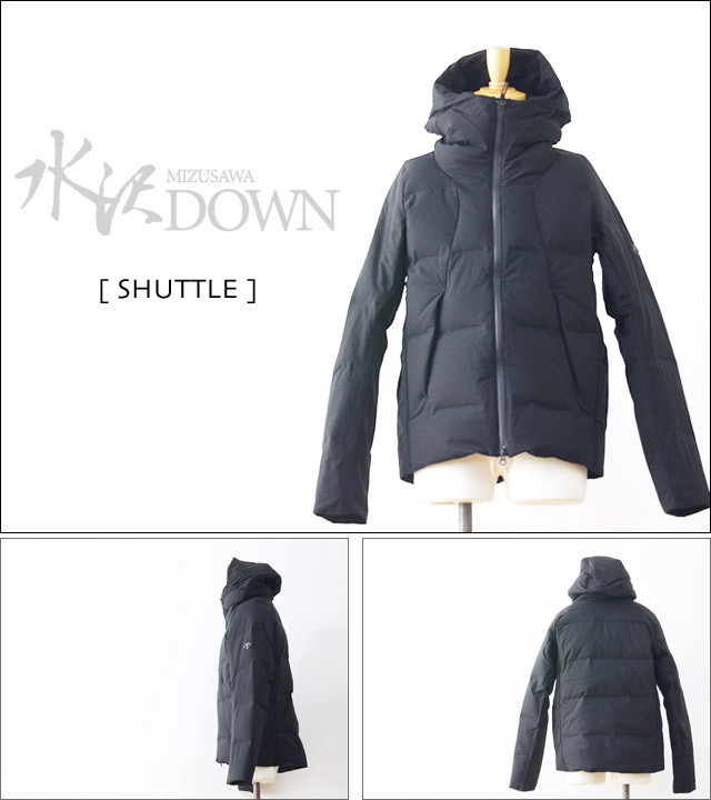 DESCENTE [デサント] MIZUSAWA DOWN JACKET 「SHUTTLE」 [DIA3571U] MEN\'S_f0051306_13204483.jpg